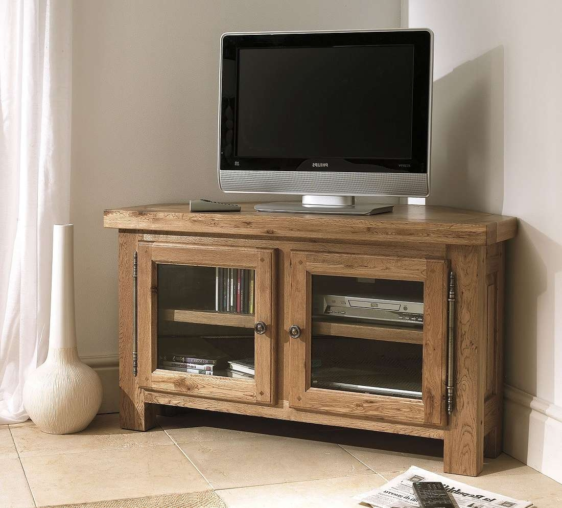 Tv : Pilgrim Furniture Tv Stand Corner Unit Awesome Dark Oak Pertaining To Wood Corner Tv Cabinets (Gallery 15 of 20)