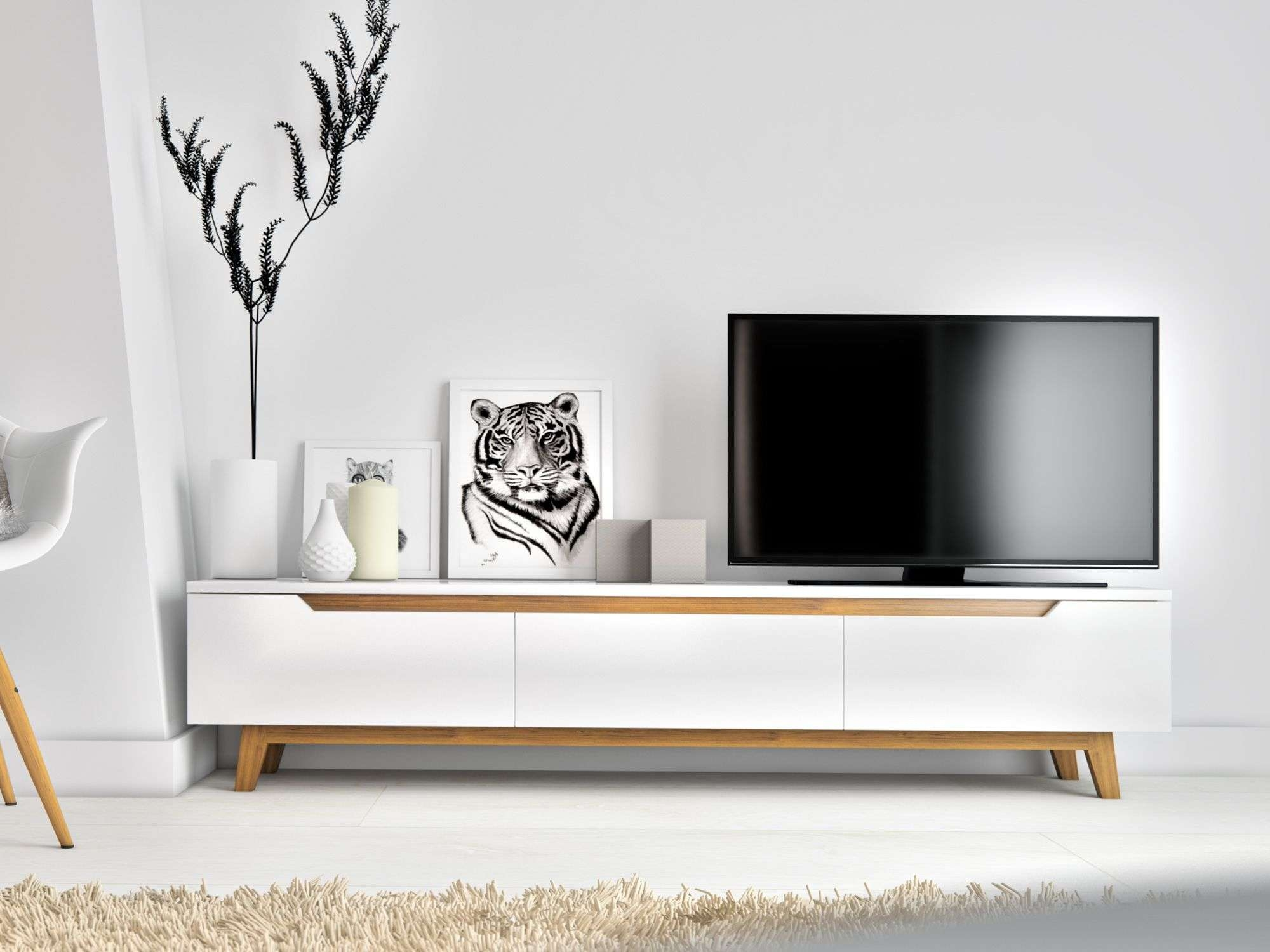 Featured Photo of Scandinavian Design Tv Cabinets