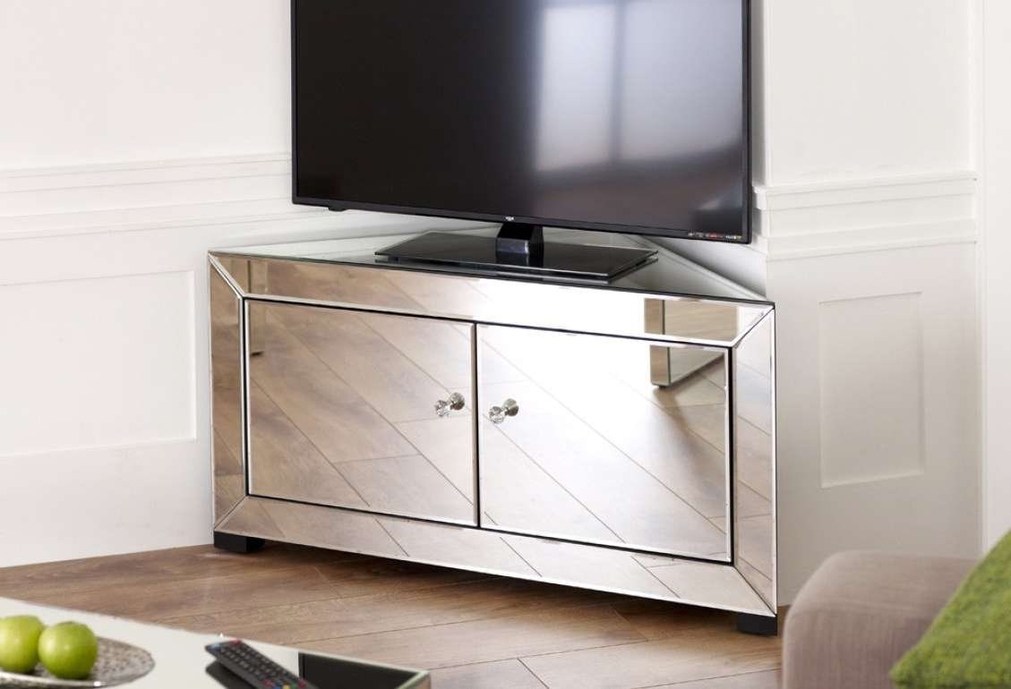 Tv : Short Wooden And Metal Tv Stand Entertainment Center With Inside Gold Tv Cabinets (View 6 of 20)
