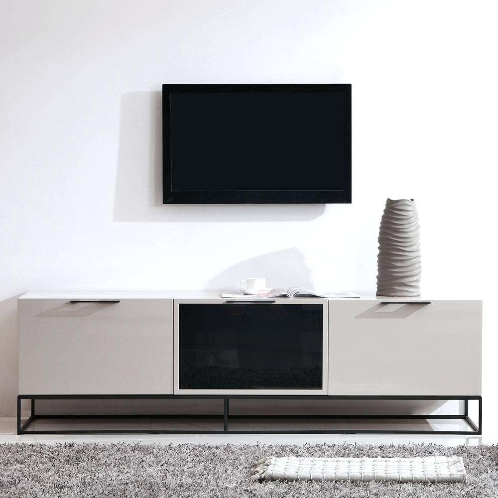 Tv Stand : Bm Tv Stand Modern Promoter High Gloss White Stunning Intended For Cream High Gloss Tv Cabinets (View 19 of 20)