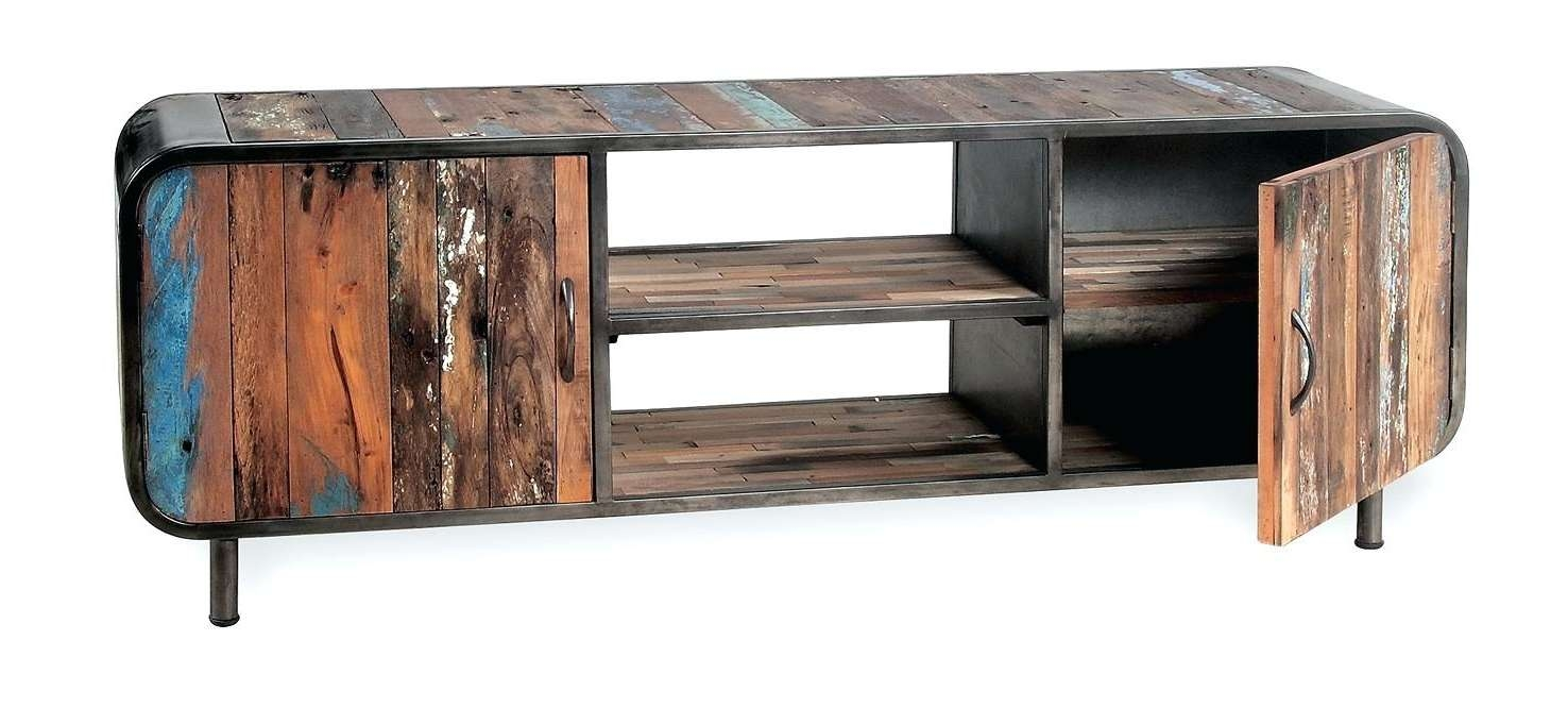Tv Stand: Vintage Industrial Tv Stand (View 8 of 20)