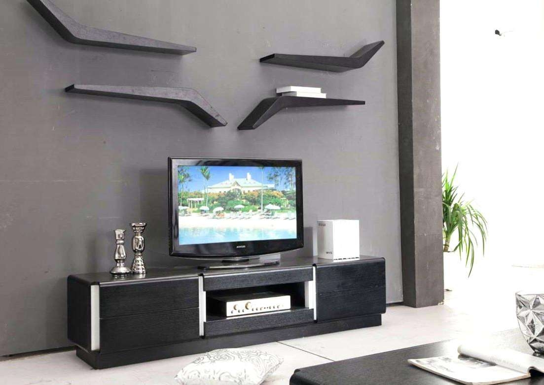 Tv Stand : Wall Tv Stand Panorama Oak Stands Online Modern Images With Regard To Full Wall Tv Cabinets (View 7 of 20)