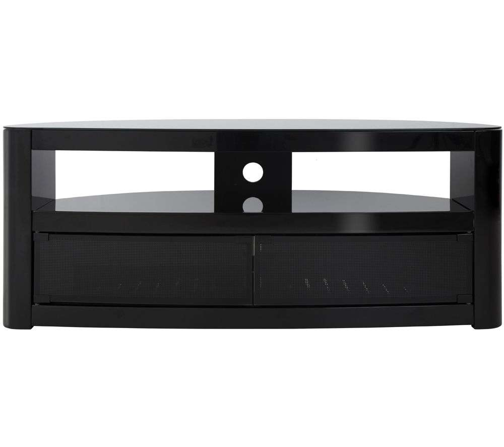 Tv Stands And Tv Units – Cheap Tv Stands And Tv Units Deals | Currys Within Glass Fronted Tv Cabinets (View 19 of 20)