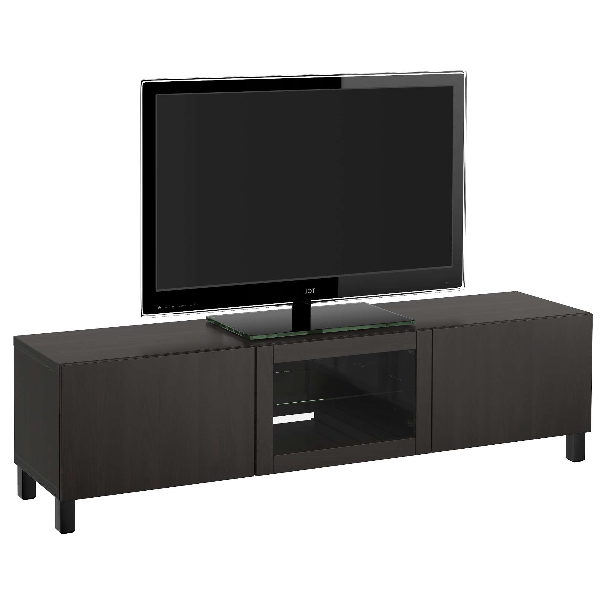 Tv Stands & Entertainment Centers – Ikea Regarding Black Tv Cabinets With Doors (View 18 of 20)