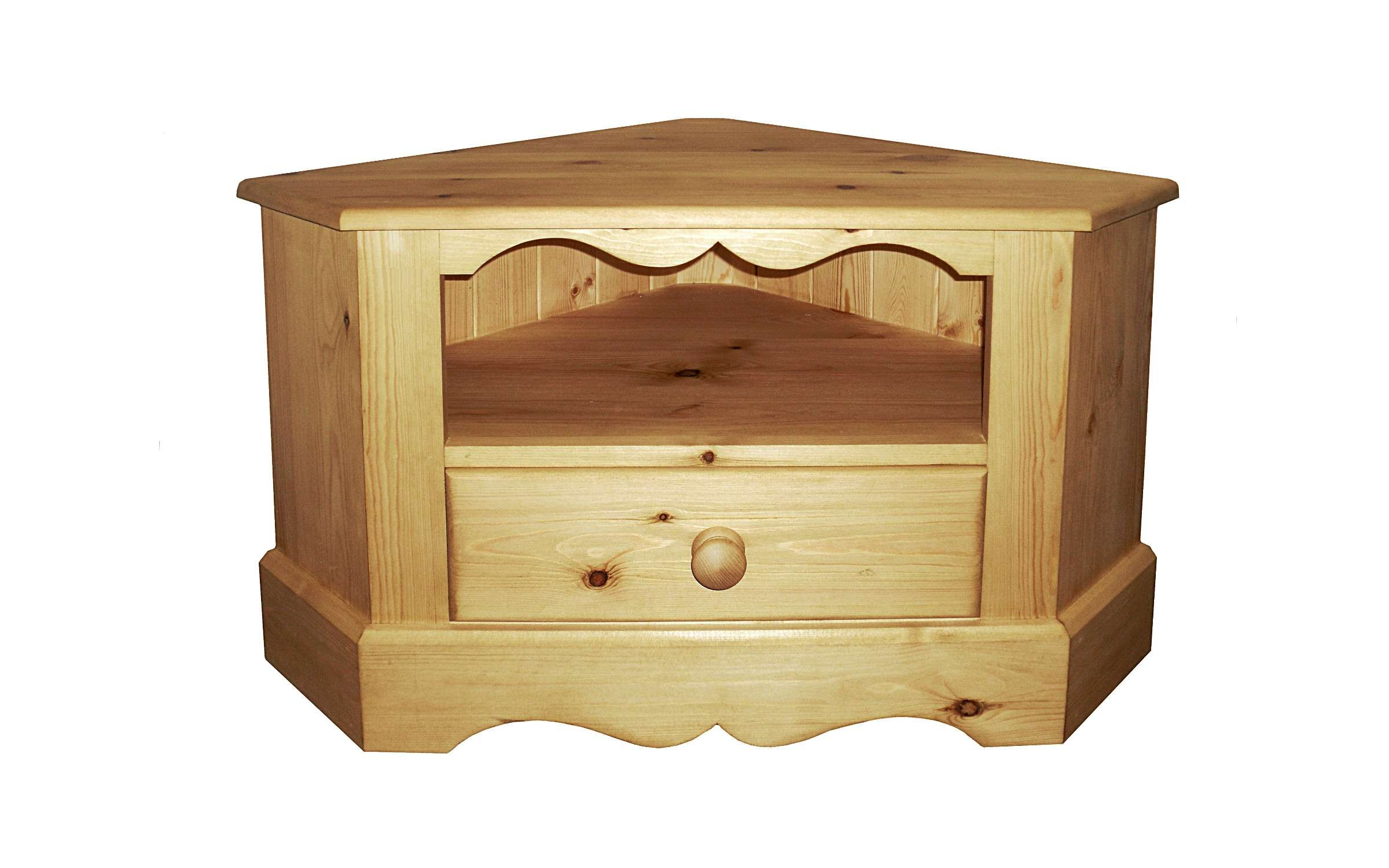Tv Stands – Kerris Farmhouse Pine Intended For Small Corner Tv Cabinets (View 15 of 20)