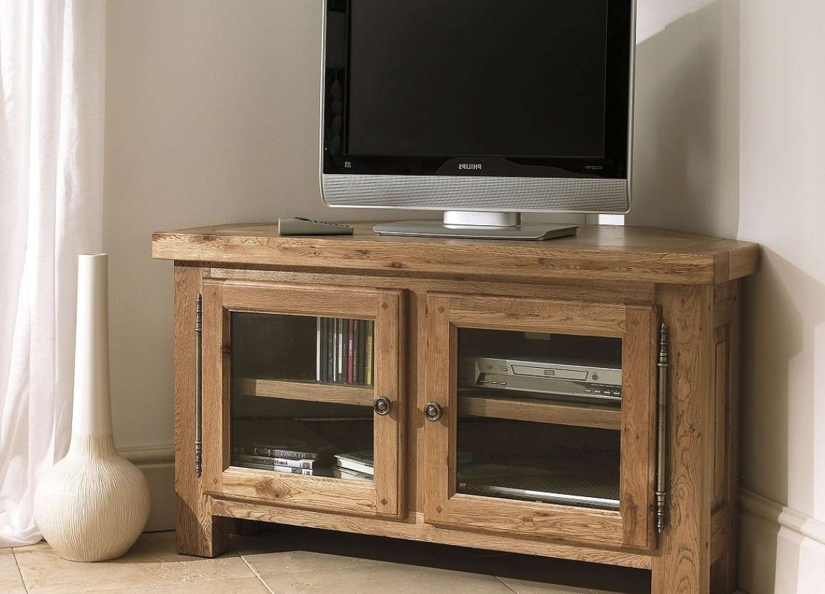 Tv : Techlink B6Lo Amazing Oak Corner Tv Stands Bench Corner Plus For Light Oak Corner Tv Cabinets (View 15 of 20)