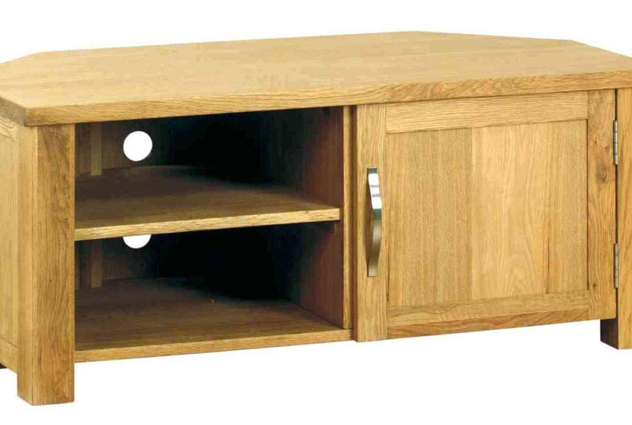 Tv : Trend Solid Chunky Oak Large Tv Dvd Video Stand Stunning In Chunky Tv Cabinets (View 11 of 20)