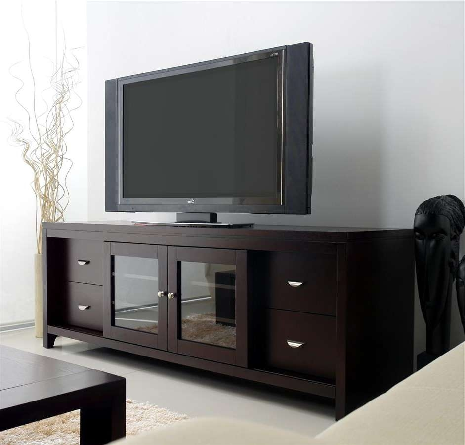 Tv Units With Glass Doors Gallery – Doors Design Ideas Throughout Tv Cabinets With Glass Doors (View 20 of 20)