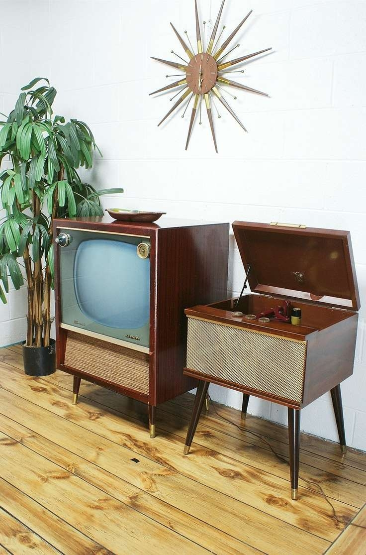 Tv : Vintage Tv Sets Awesome Vintage Style Tv Cabinets Vintage 50s With Regard To Vintage Style Tv Cabinets (View 9 of 20)