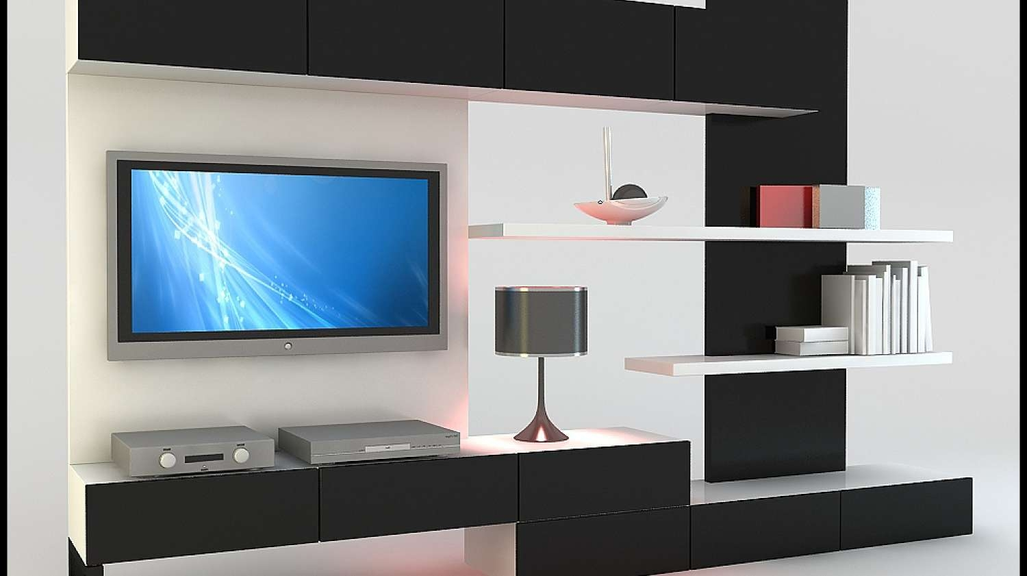 Tv : Wall Unit Ideas Design Stunning Living Room Tv Cabinets In Stylish Tv Cabinets (View 17 of 20)