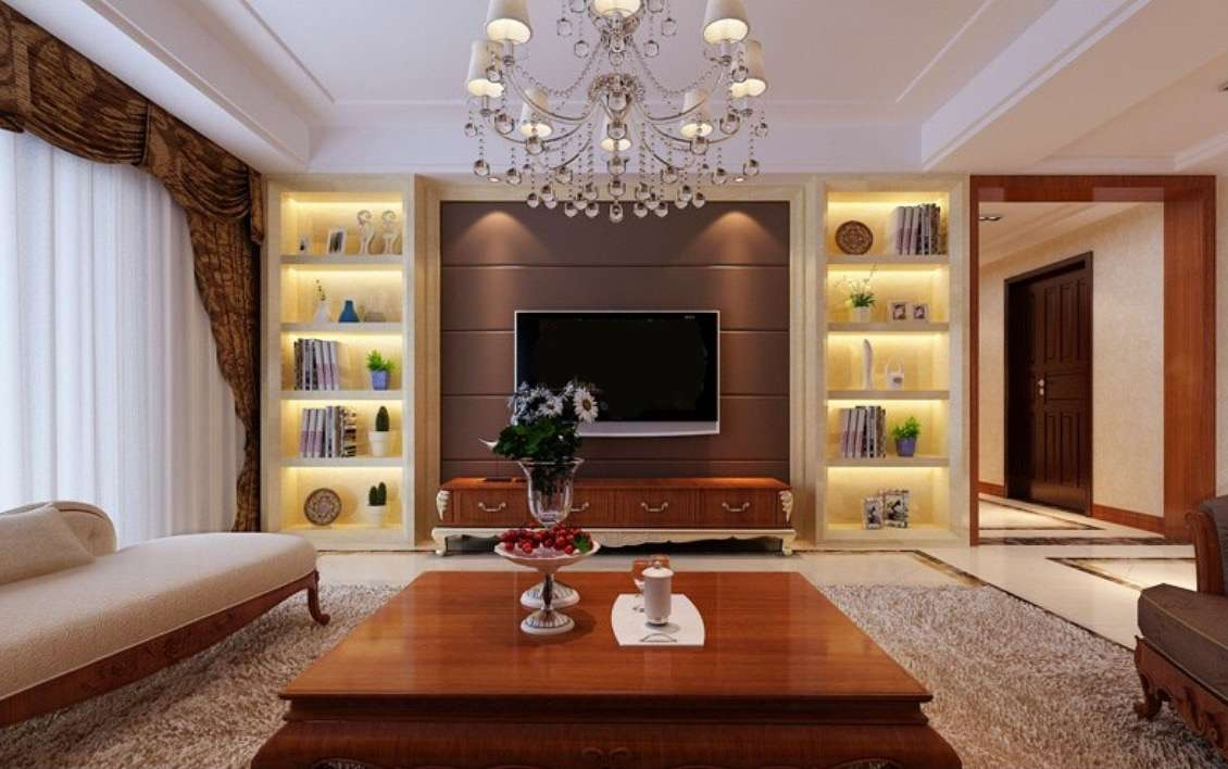 Tv Wall With Display Cabinets | Interior Design In Wall Display Units And Tv Cabinets (View 16 of 20)