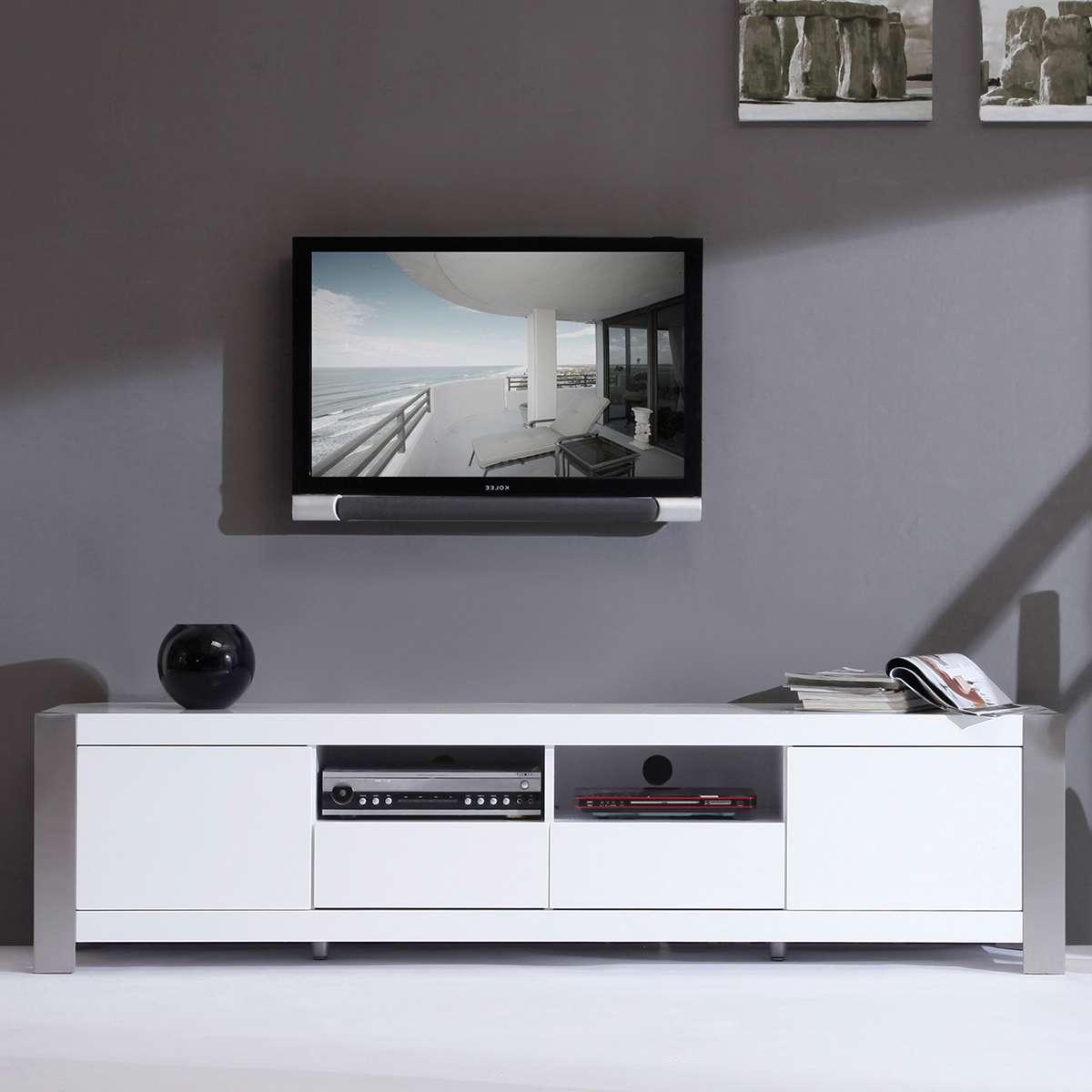 Tv : Wonderful High Gloss White Tv Cabinets Howdens Hack High For White Tv Cabinets (View 20 of 20)