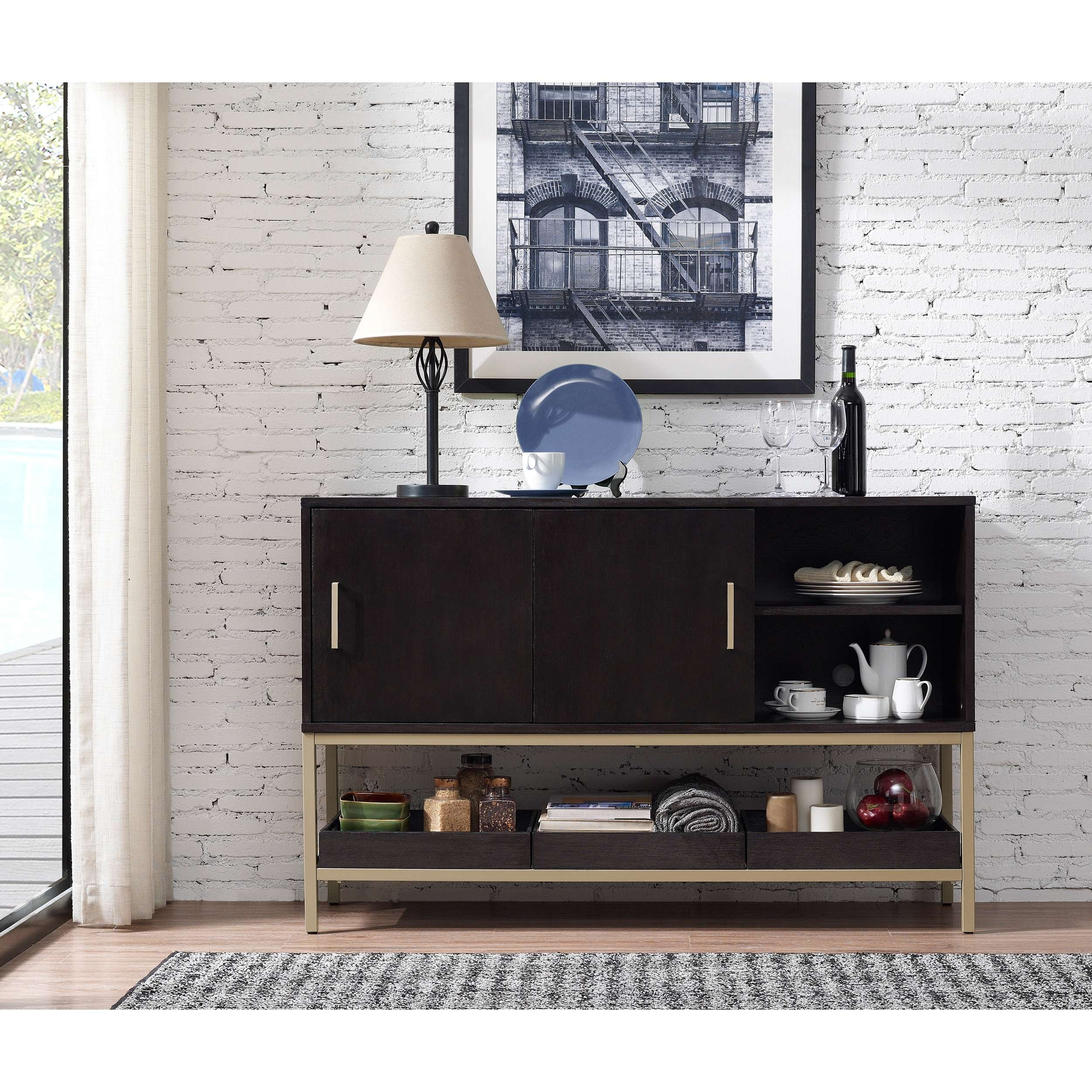 Twilight 54 Inch Buffet – Free Shipping Today – Overstock With 60 Inch Sideboards (View 20 of 20)