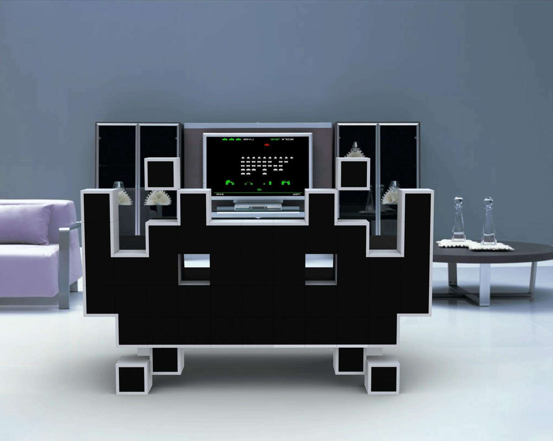 Unique Tv Stands. Unique Tv Stand Design (View 3 of 20)