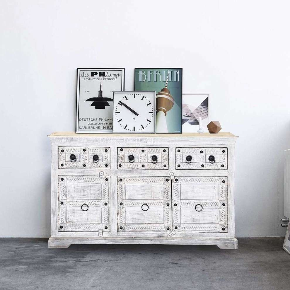 United States Reclaimed Wood Sideboard Spaces Rustic With With Eclectic Sideboards (View 12 of 20)