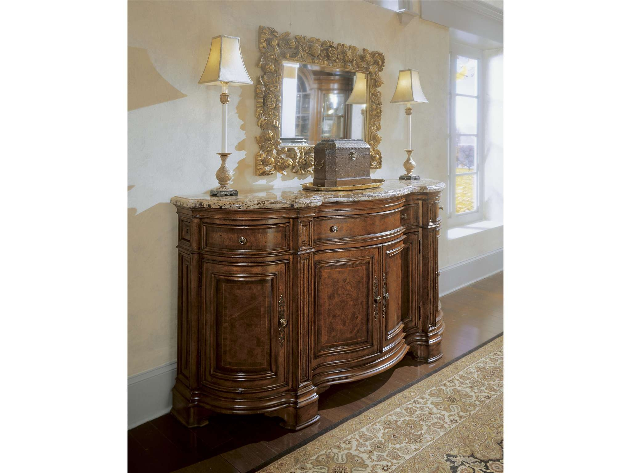 Universal Furniture | Villa Cortina | Sideboard Credenza Intended For Credenza Sideboards (View 17 of 20)