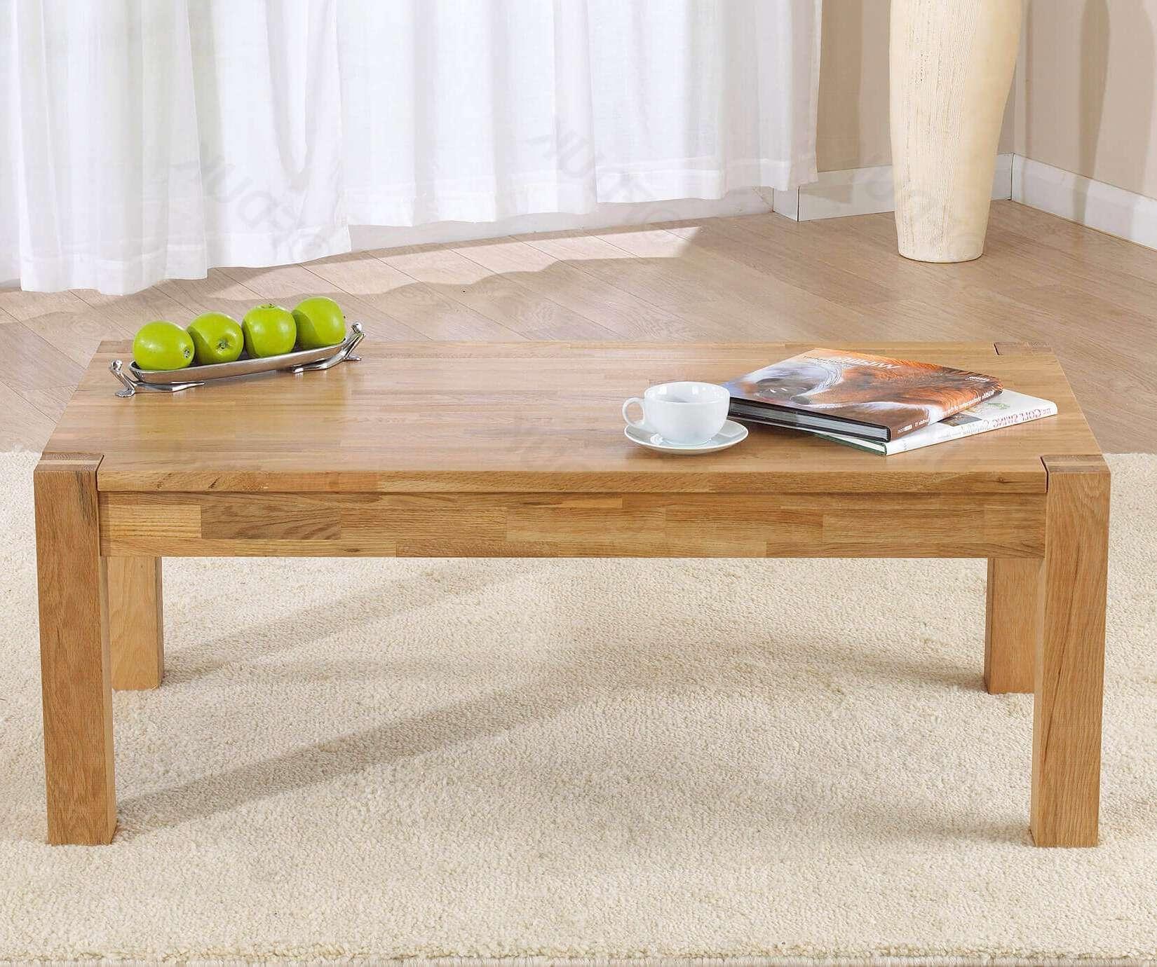 Verona Oak Coffee Table (Gallery 6 of 20)