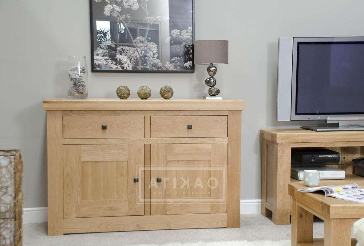 Vienna Light Oak Sideboard – Oak Sideboards – Oak Furniture – Oakita Within Sideboards (View 20 of 20)