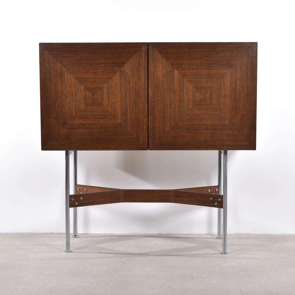Vintage Dutch Bar Cabinetrudolf Bernd Glatzel For Fristho For In Sideboards Bar Cabinet (Gallery 17 of 20)