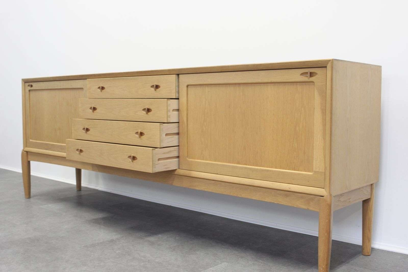Vintage Oak Sideboardh.w. Klein For Bramin For Sale At Pamono In Antique Oak Sideboards (Gallery 6 of 20)