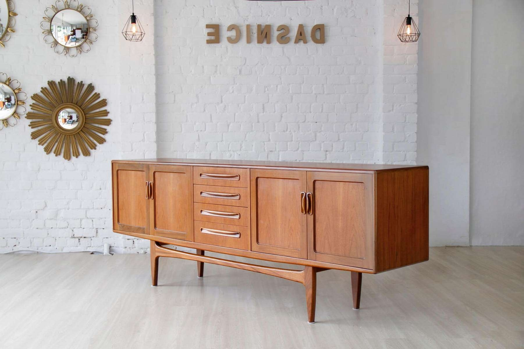 Vintage Sideboard In Teakib Kofod Larsen For G Plan For Sale Regarding G Plan Vintage Sideboards (Gallery 5 of 20)