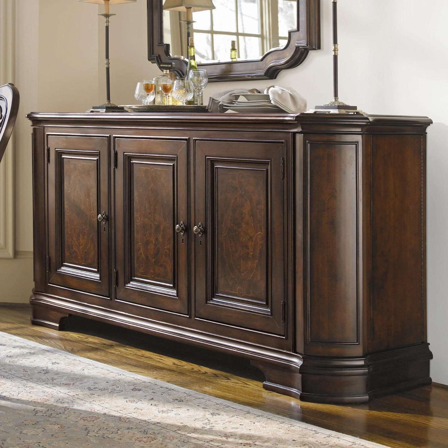 Vintage Sideboards And Buffets Furniture — New Decoration : The Pertaining To Sideboards And Buffets (View 19 of 20)