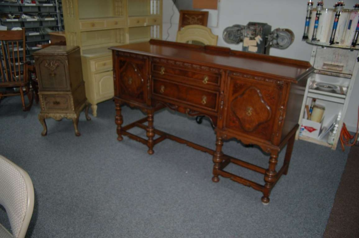 Vintage Sideboards And Buffets Photo — New Decoration : The Intended For Antique Sideboards And Buffets (View 4 of 20)