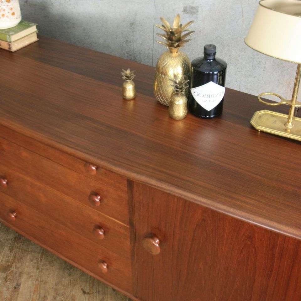 Vintage Younger Mid Century Teak & Afromosia Sideboard Pedlars Regarding A Younger Sideboards (View 19 of 20)