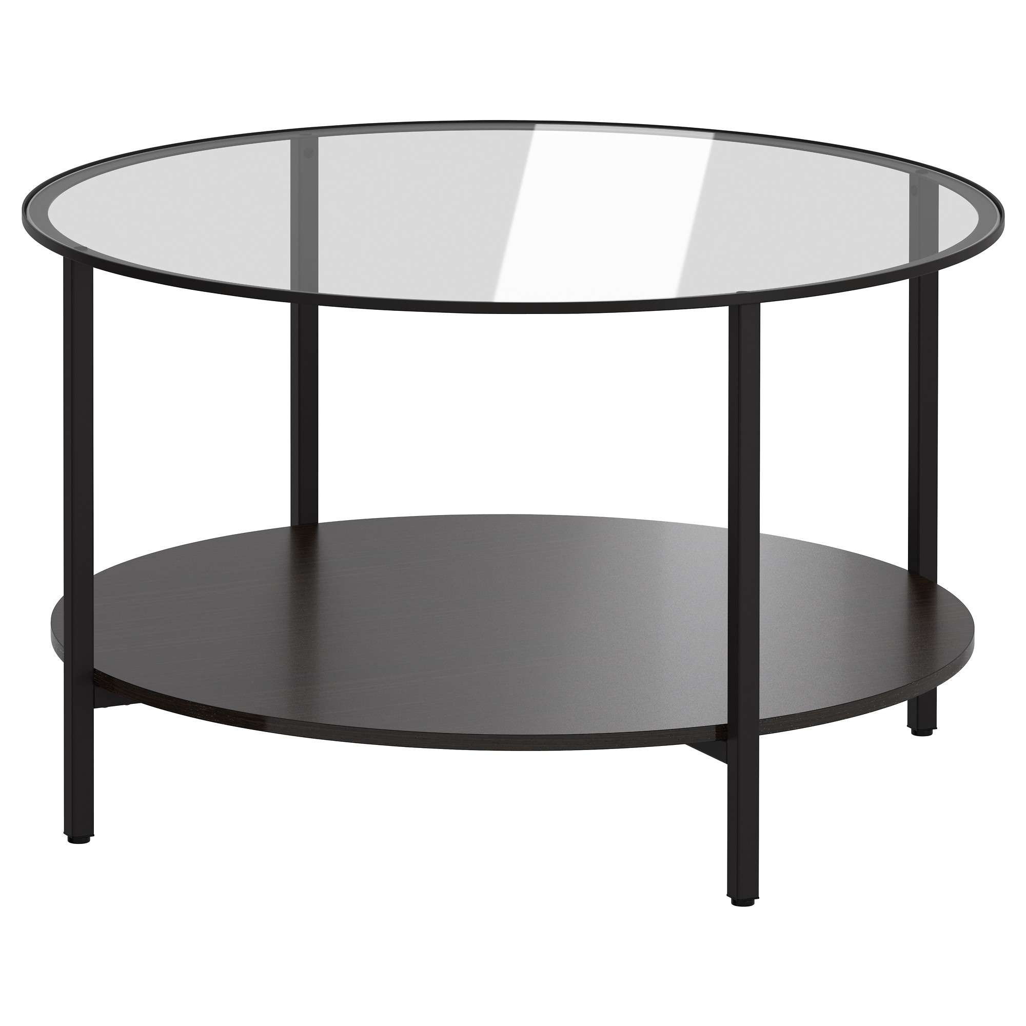 Vittsjö Coffee Table – Black Brown/glass – Ikea Within Most Recently Released Glass Circle Coffee Tables (View 7 of 20)