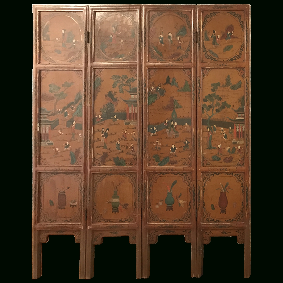 Viyet – Designer Furniture – Accessories – Antique Asian Screen In Asian Sideboards (View 14 of 20)