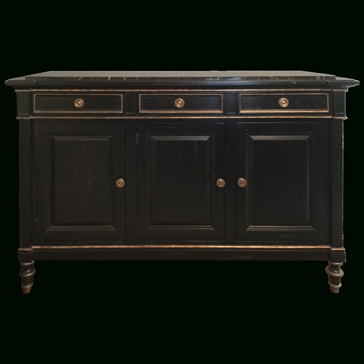 Viyet – Designer Furniture – Storage – Hickory White Marble Top Inside Marble Top Sideboards (View 13 of 20)