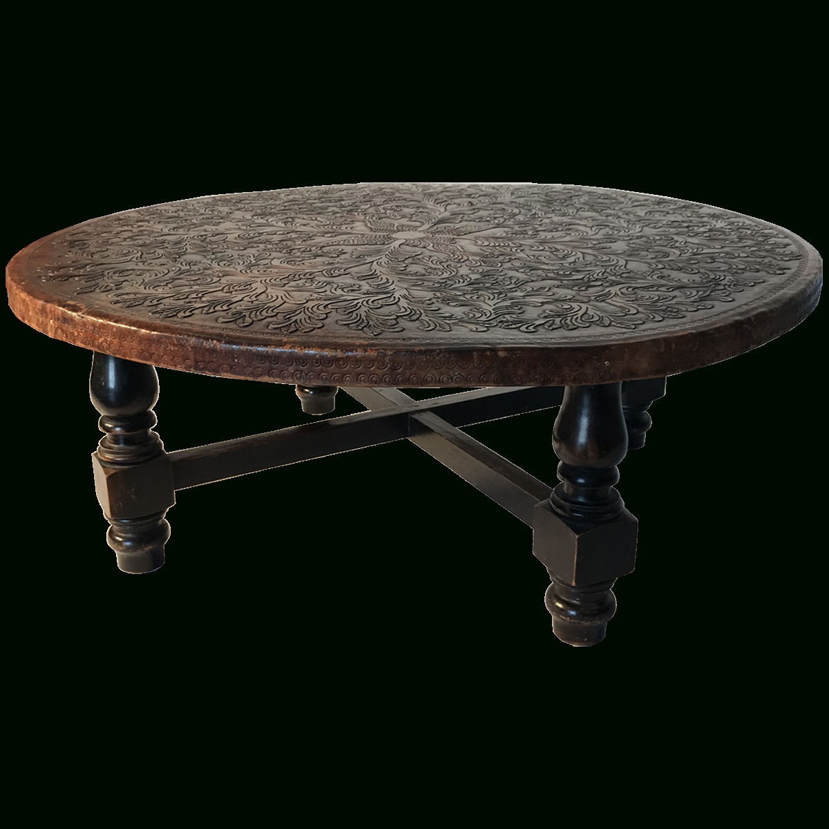 Viyet – Designer Furniture – Tables – Vintage Spanish Colonial Within Widely Used Colonial Coffee Tables (View 6 of 20)
