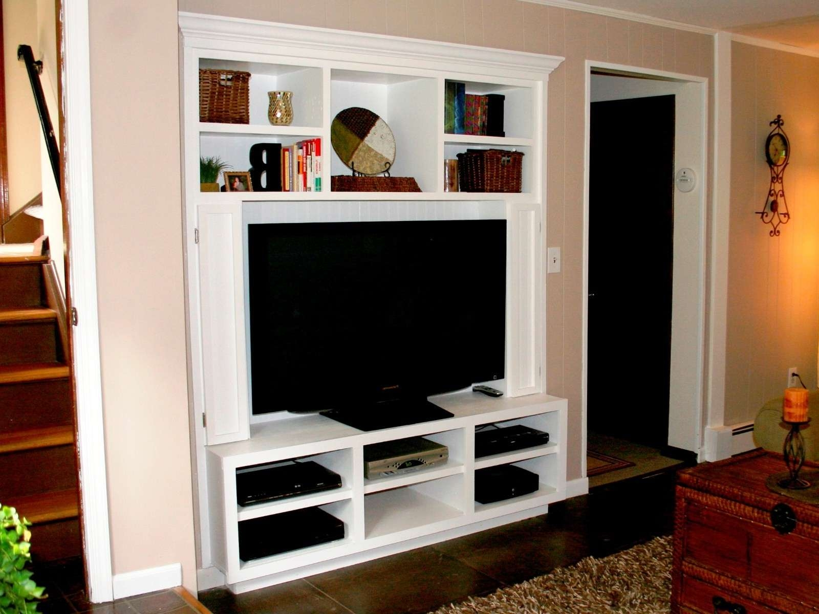 Wall Mount Flat Screen Tv Cabinet | Nytexas In Wall Mounted Tv Cabinets For Flat Screens (View 6 of 20)