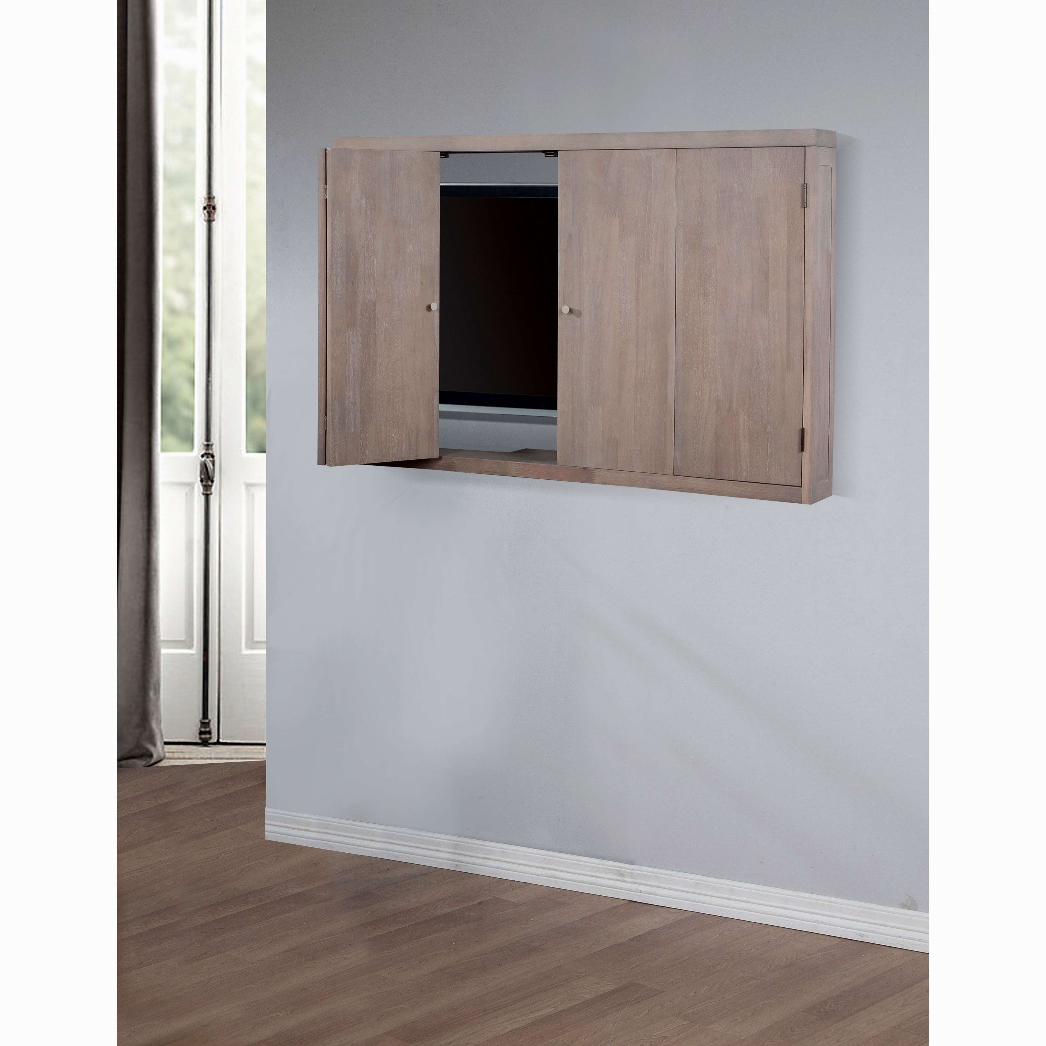 Wall Mounted Tv Cabinet With Sliding Doors – Imanisr Pertaining To Wall Mounted Tv Cabinets With Sliding Doors (View 19 of 20)