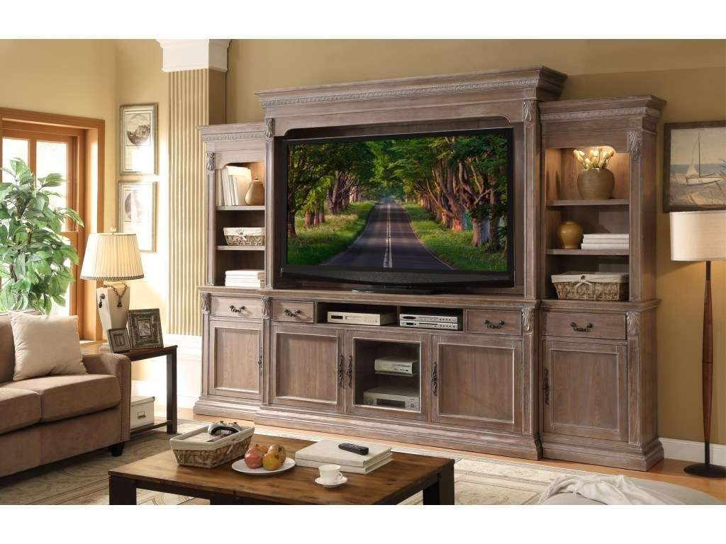 Wall Units: 2017 Traditional Entertainment Wall Units Collection Intended For Traditional Tv Cabinets (View 19 of 20)