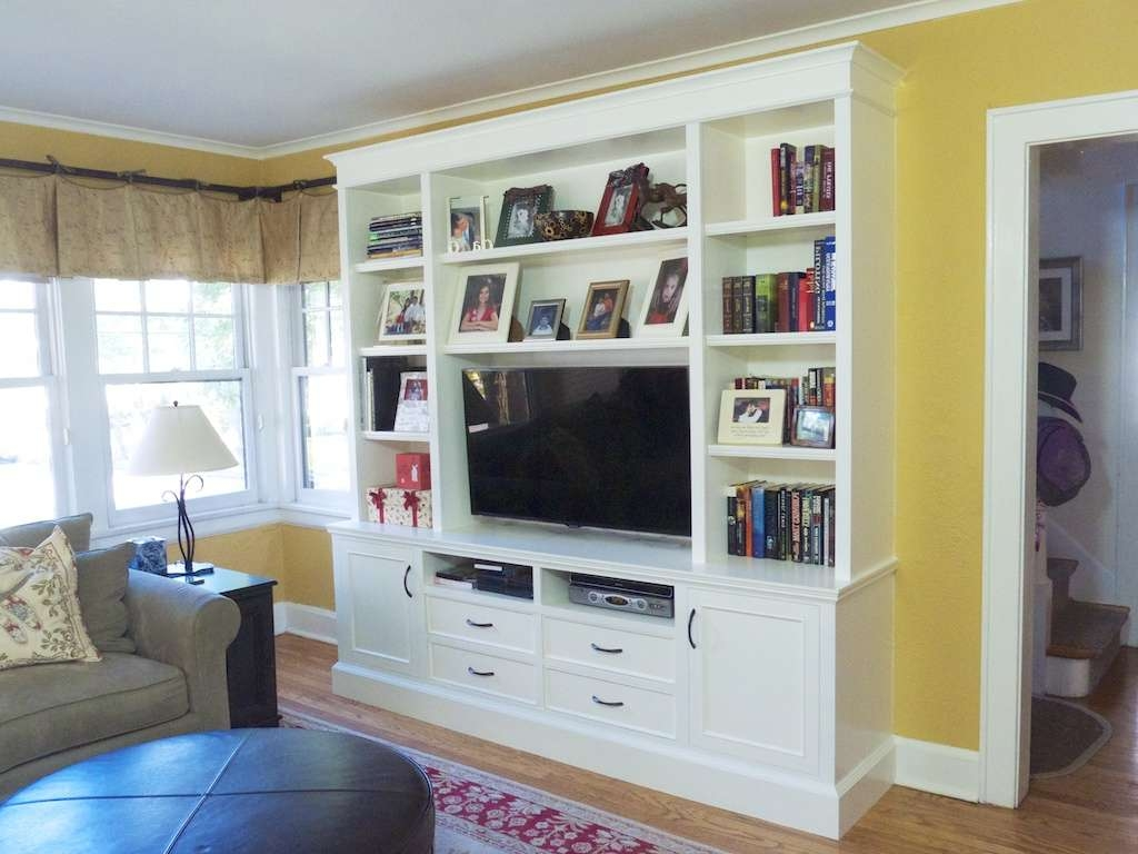Wall Units: Amusing Inbuilt Wall Shelves Built In Shelves And Pertaining To Ikea Built In Tv Cabinets (View 16 of 20)