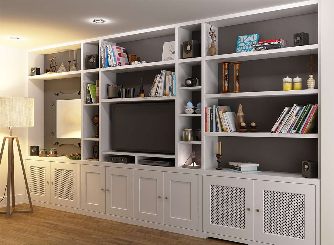 Wall Units: Amusing Tv Unit Bookcase Bookcase With Tv Shelf, Tv Within Tv Cabinets And Bookcase (View 7 of 20)