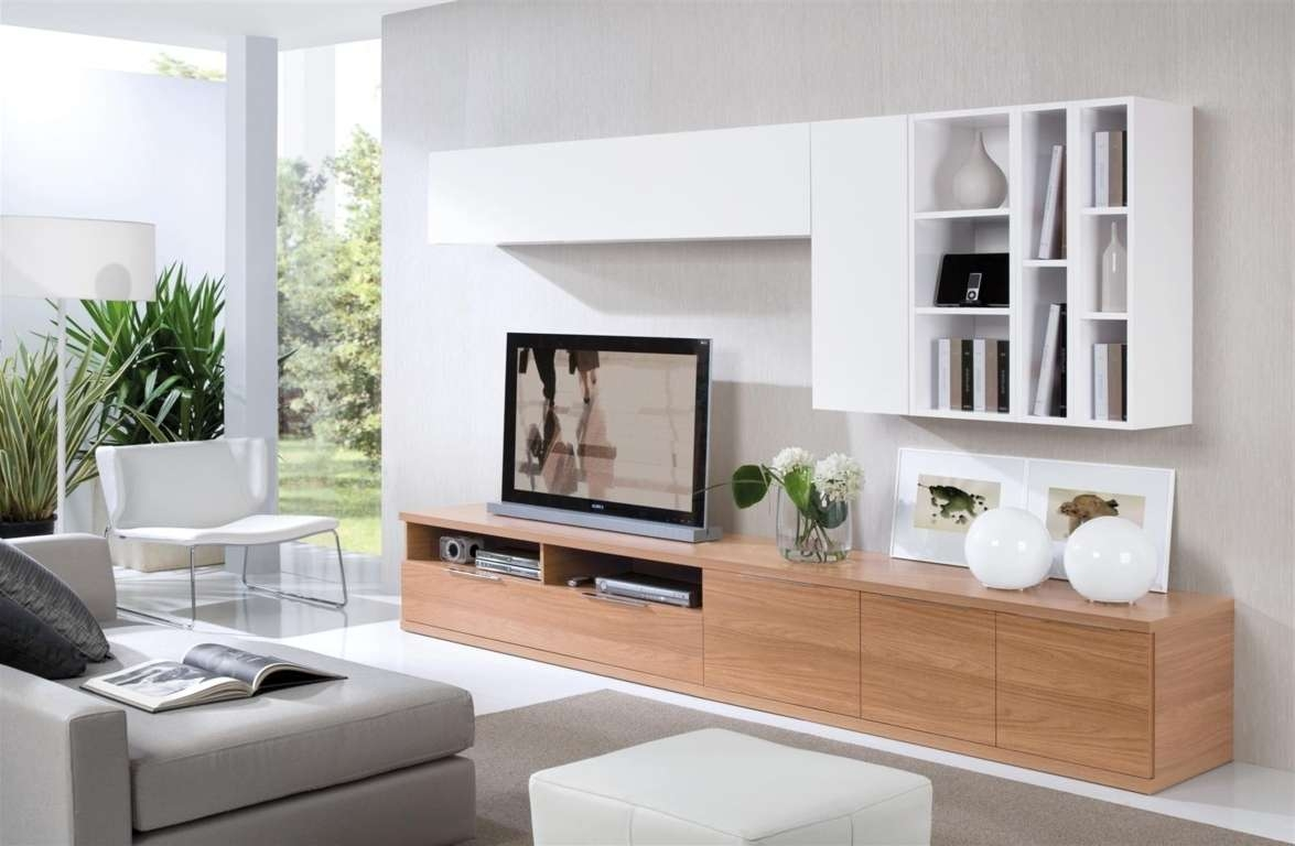 Wall Units Interesting Built In Tv Flat Screen Intended For Modern