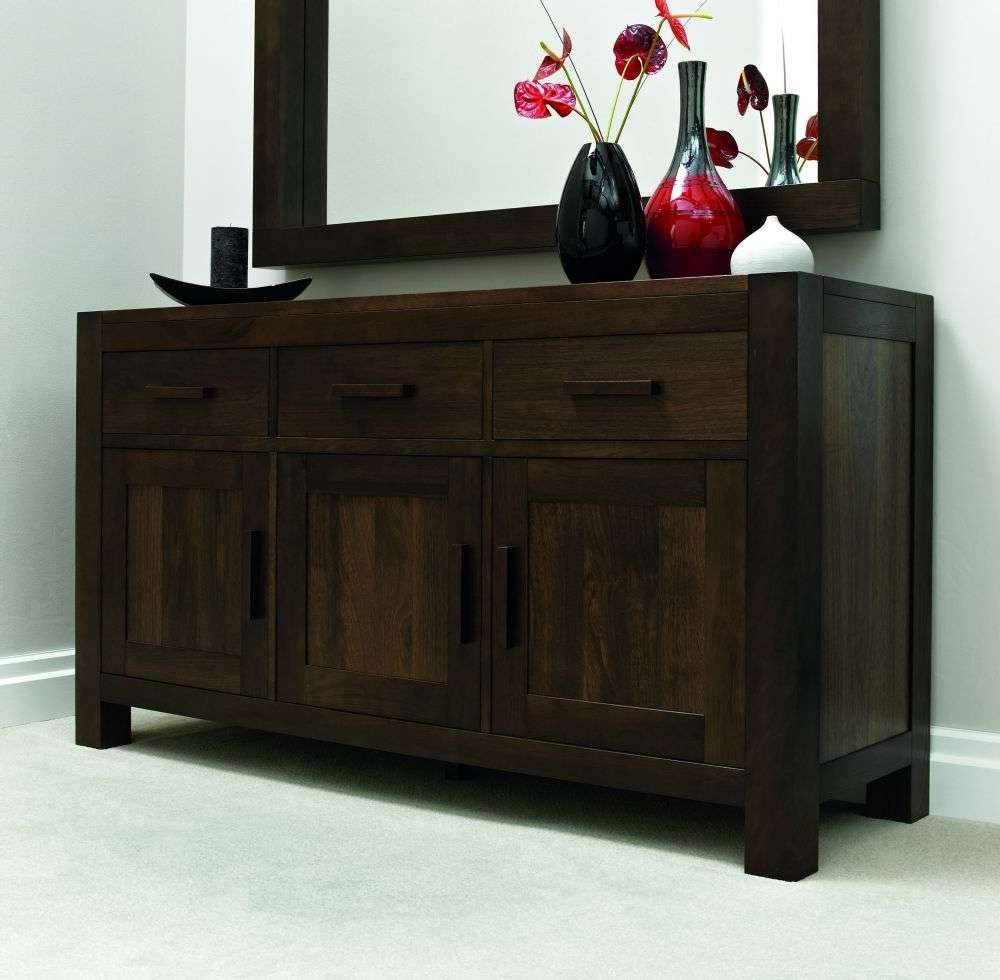 Walnut 160cm Sideboard – Keens Furniture With Regard To Walnut Sideboards (View 4 of 20)