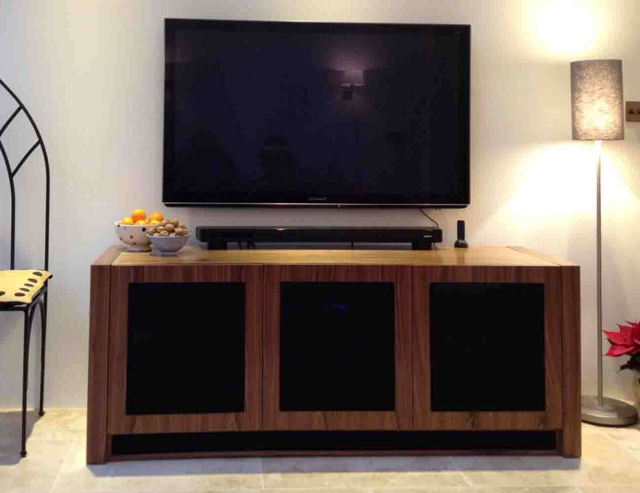 Walnut Av Furniture, Walnut Av Cabinets, Walnut Tv Stands, Walnut Throughout Walnut Tv Cabinets With Doors (View 19 of 20)