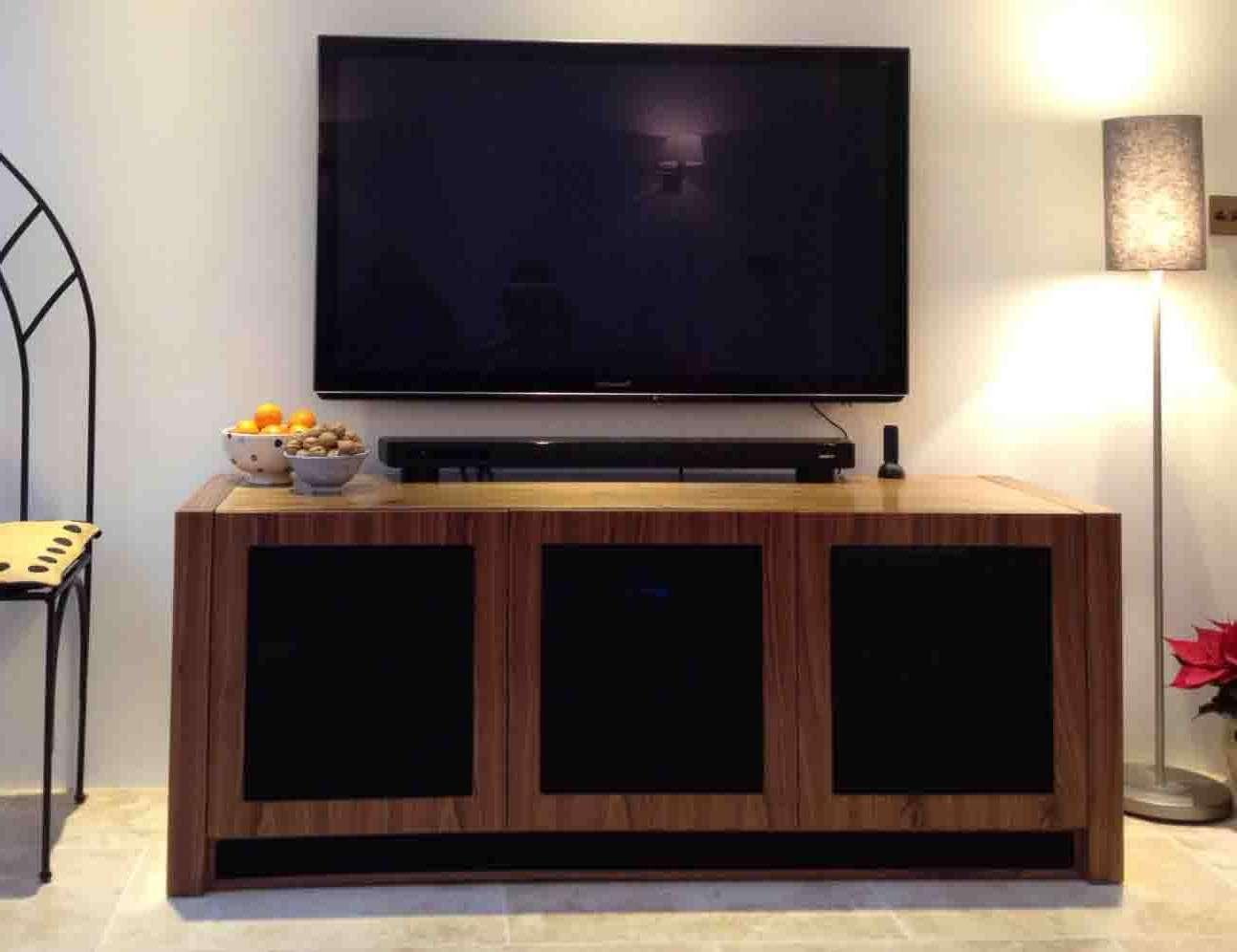Walnut Av Furniture, Walnut Av Cabinets, Walnut Tv Stands, Walnut Throughout Walnut Tv Cabinets With Doors (View 19 of 20)