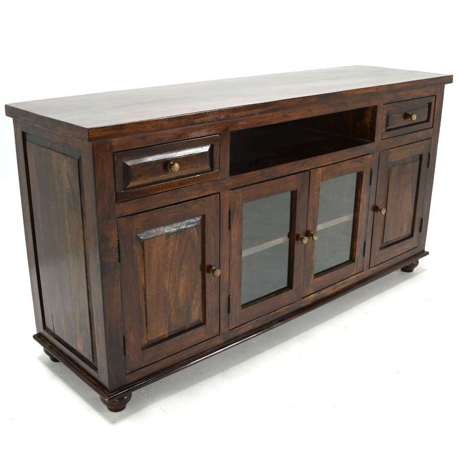Walnut Tv Cabinets Glass Doors • Cabinet Doors Intended For Traditional Tv Cabinets (View 20 of 20)