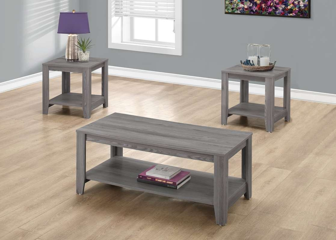 Featured Photo of Grey Coffee Table Sets