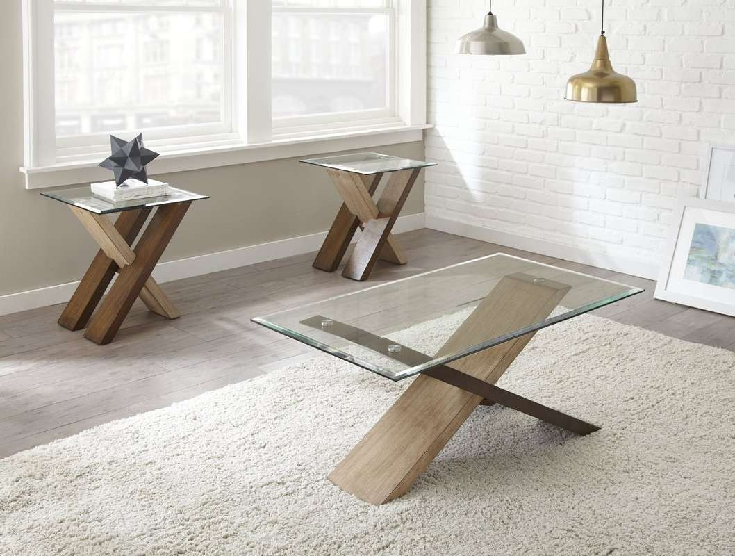 Wayfair Regarding Best And Newest 2 Piece Coffee Table Sets (View 15 of 20)