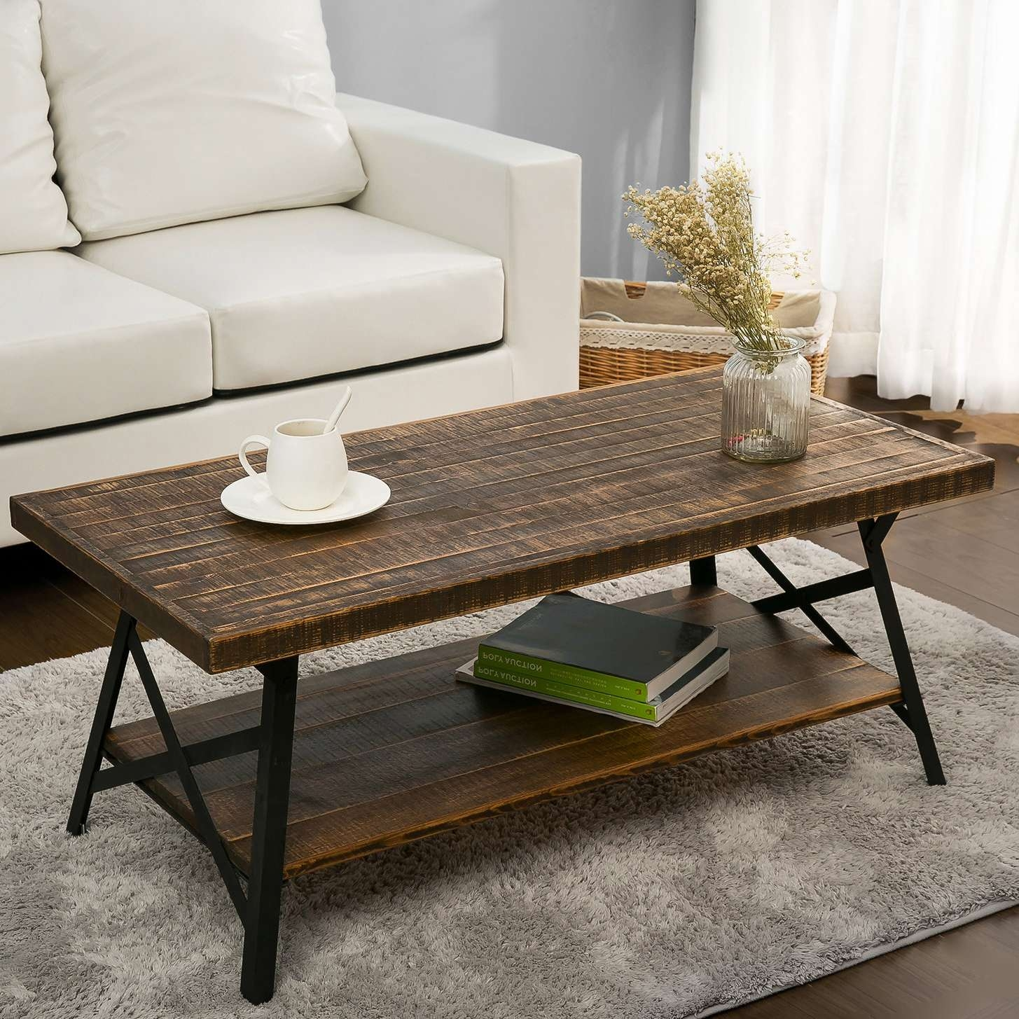 Wayfair Within Latest Coffee Tables With Magazine Rack (View 5 of 20)