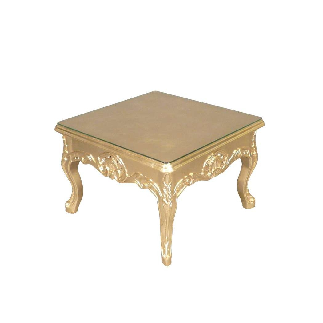 Well Known Baroque Coffee Tables Intended For Round Glass Top Coffee Table With Wood Base Tags : Wood Box Coffee (View 19 of 20)
