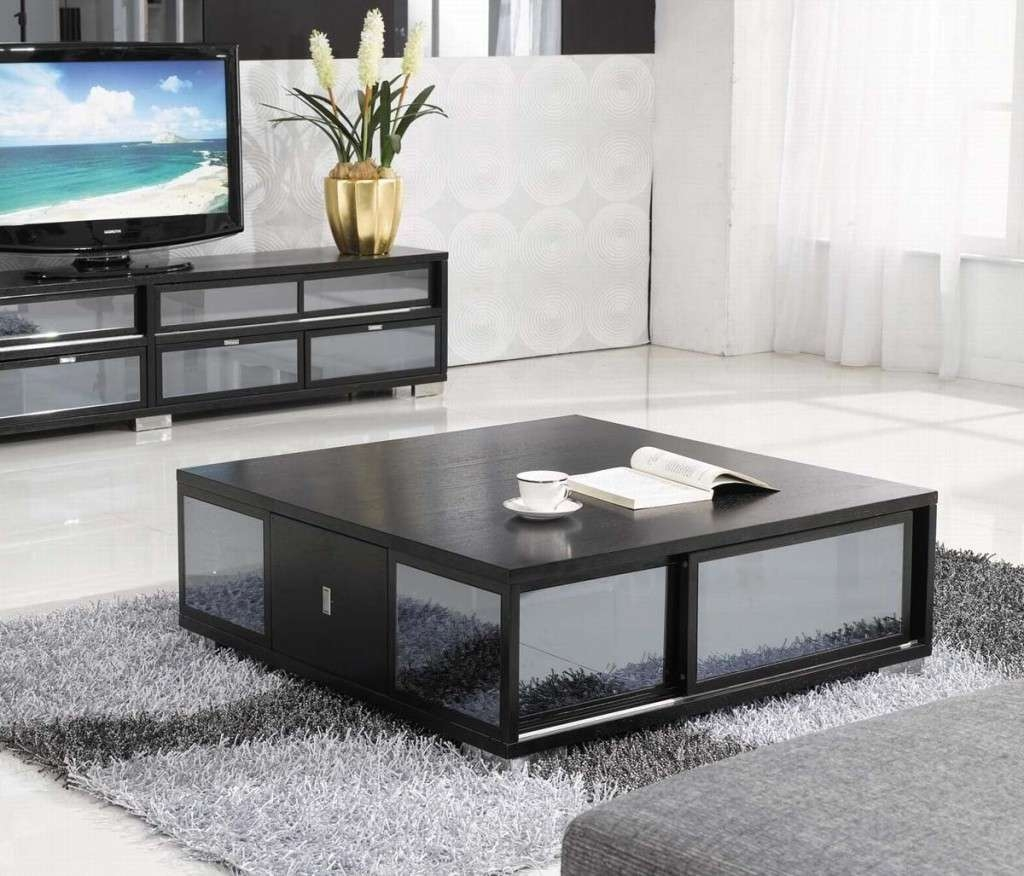 Well Known Big Black Coffee Tables For Living Room Ideas : Tables For Living Rooms Astonishing Design Low (View 2 of 20)