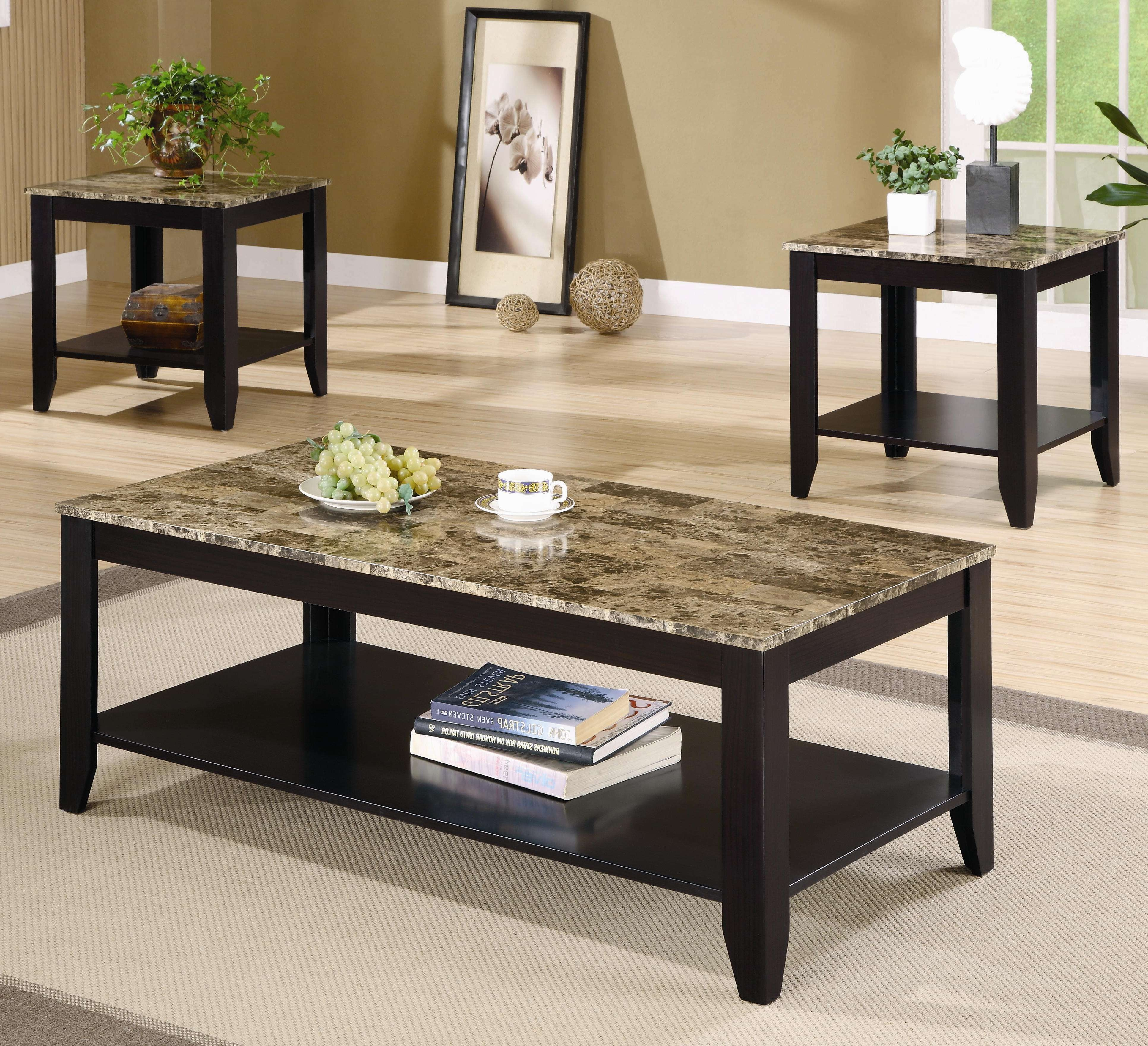 Well Known Big Black Coffee Tables With Coffee Tables : Mesmerizing Metal Coffee Table Sets Long Black (View 10 of 20)