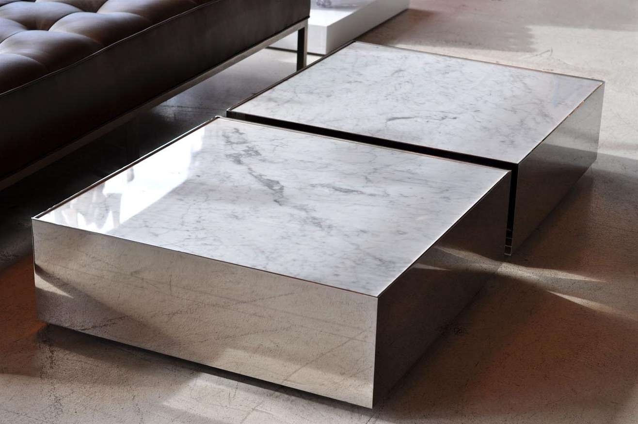 Well Known Big Low Coffee Tables For Option Detail Stone Coffee Table – Matt And Jentry Home Design (View 18 of 20)