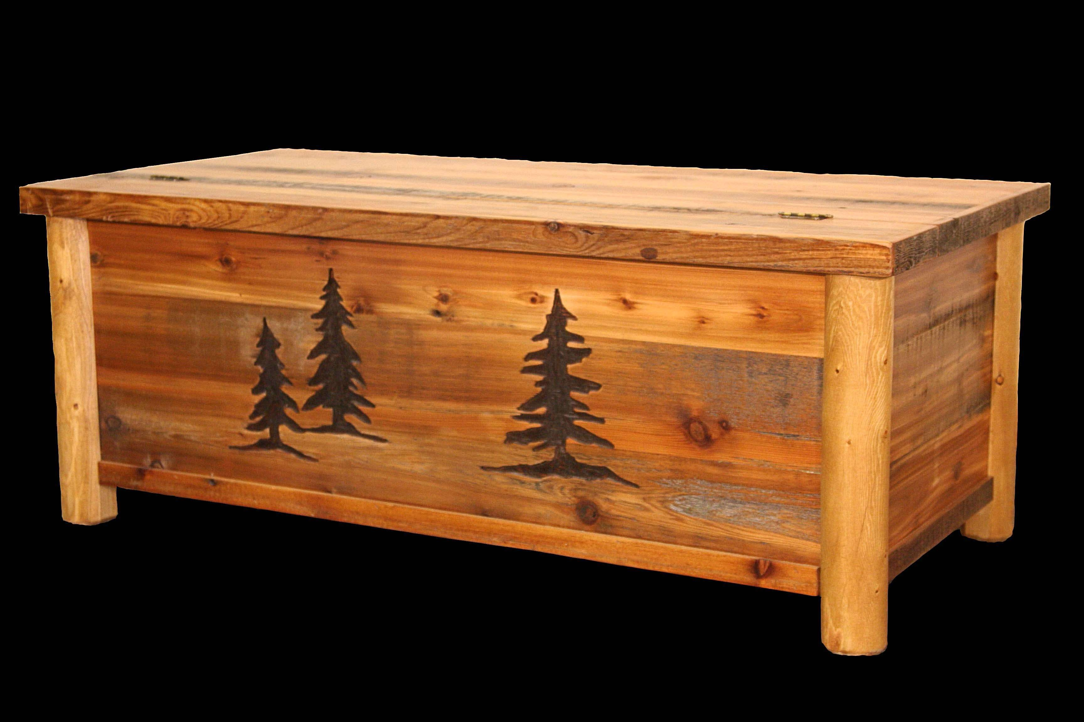 Well Known Blanket Box Coffee Tables Intended For Bwbc 400 R Huron Blanket Chest/coffee Table – Cabin Appeal (View 5 of 20)